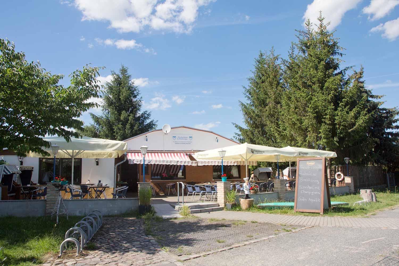 Fischerhütte in Radewege