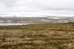 Orientierungspunkt Hårteigen Hardangervidda