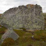 Größerer Felsen Hardangervidda