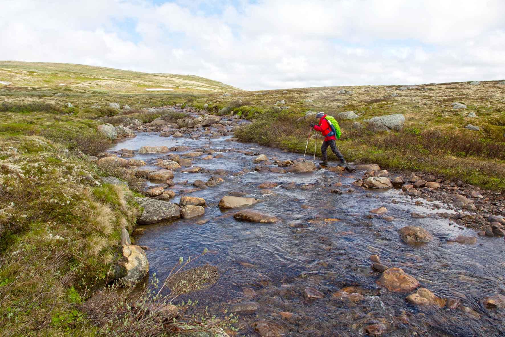 Bachüberquerung Hardangervidda