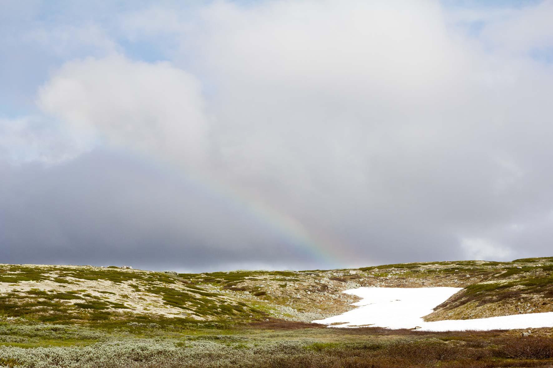 Regenbogen Hardangervidda