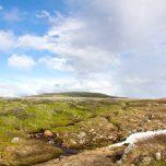 Blauer Himmel Hardangervidda
