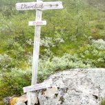 Wegweiser Richtung Viveldi