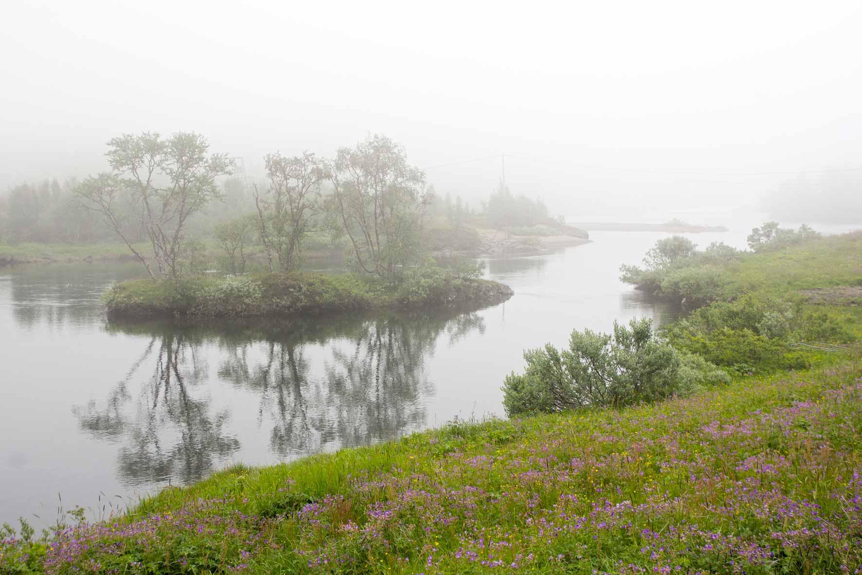Fluß Olbogo Veig