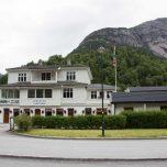 Unsere Unterkunft in Eidfjord