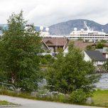 Blick Richtung Hafen Eidfjord