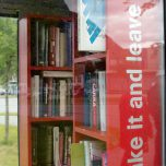 Bücherzelle Eidfjord