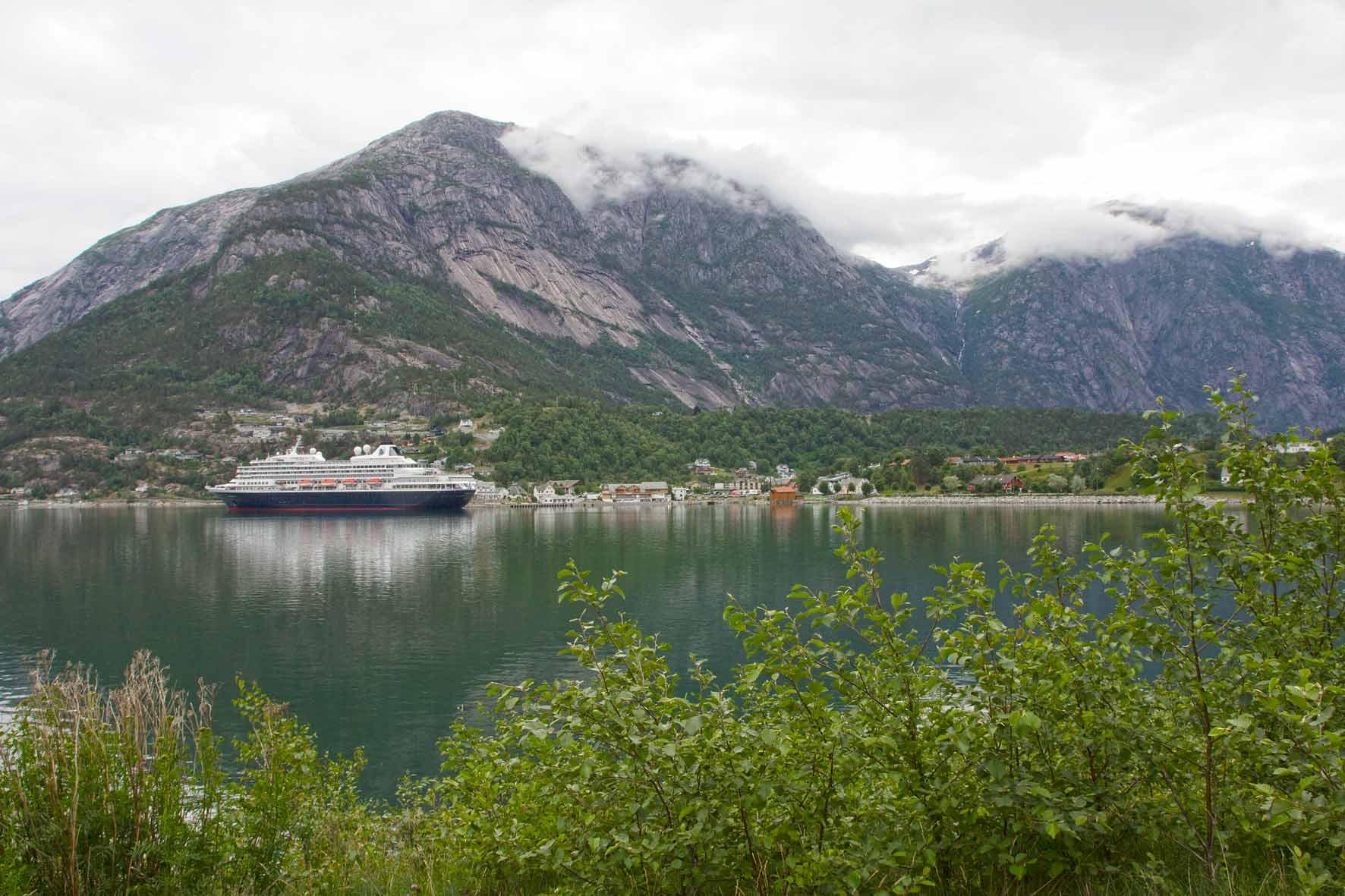 Eidfjord am Eidfjord