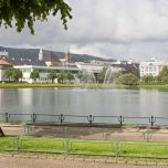 Stadtsees Lille Lungegårdsvannet Bergen