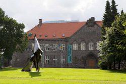 König Olav Kyrre auf dem Pferd