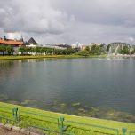 Stadtsee Lille Lungegårdsvannet Bergen