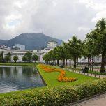 Parkanlagen am Stadtsee von Bergen