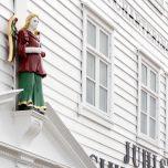 Weihnachtshaus in Bryggen