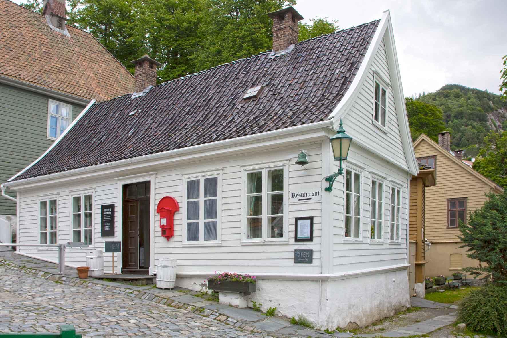Information Ticketverkauf Gamle Bergen