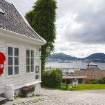 Blick auf den Byfjord