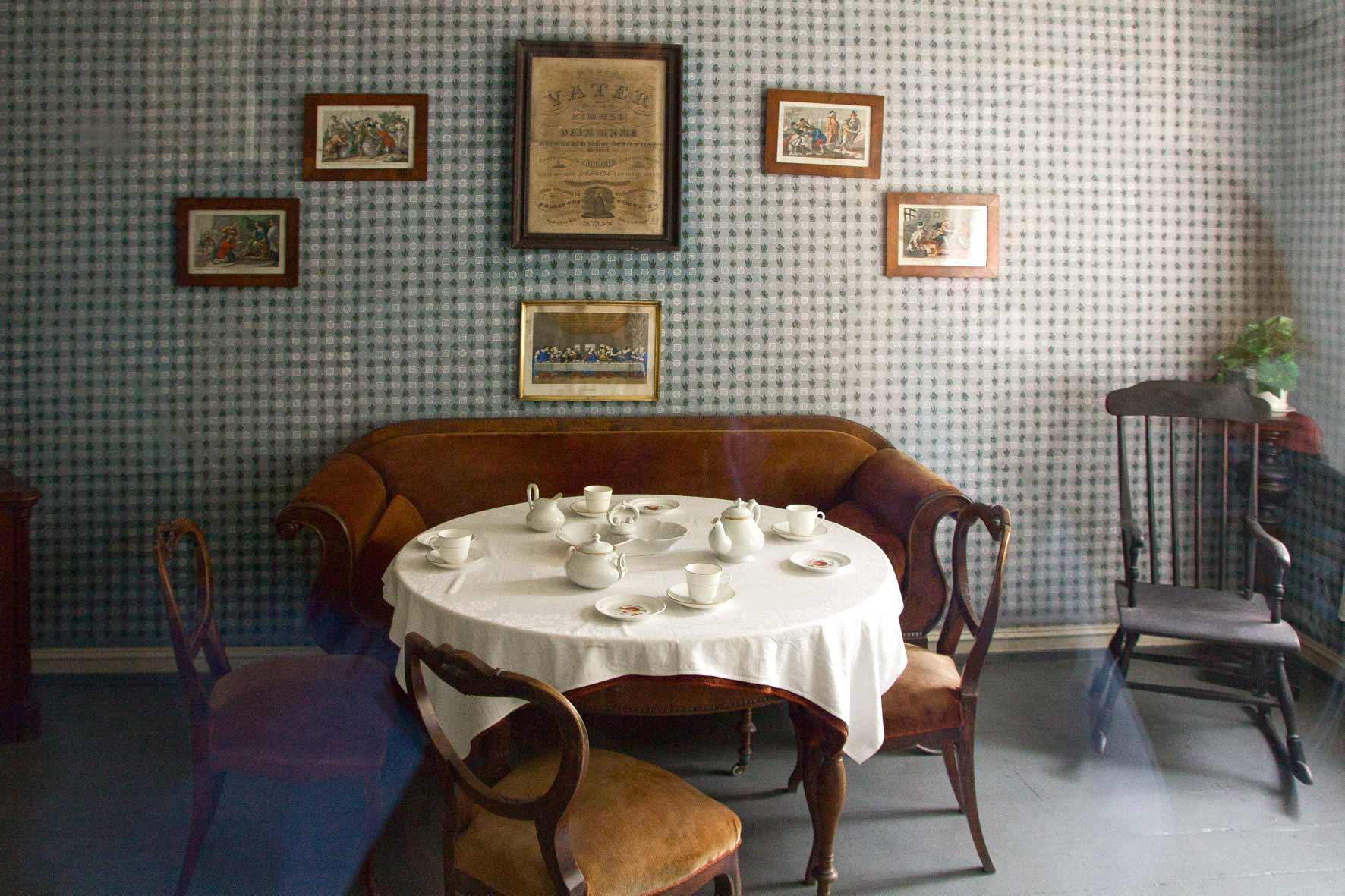 Privates Wohnzimmer in Gamle Bergen