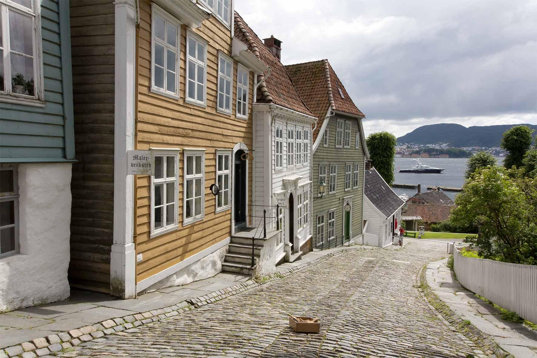 Gamle Bergen und Byfjord