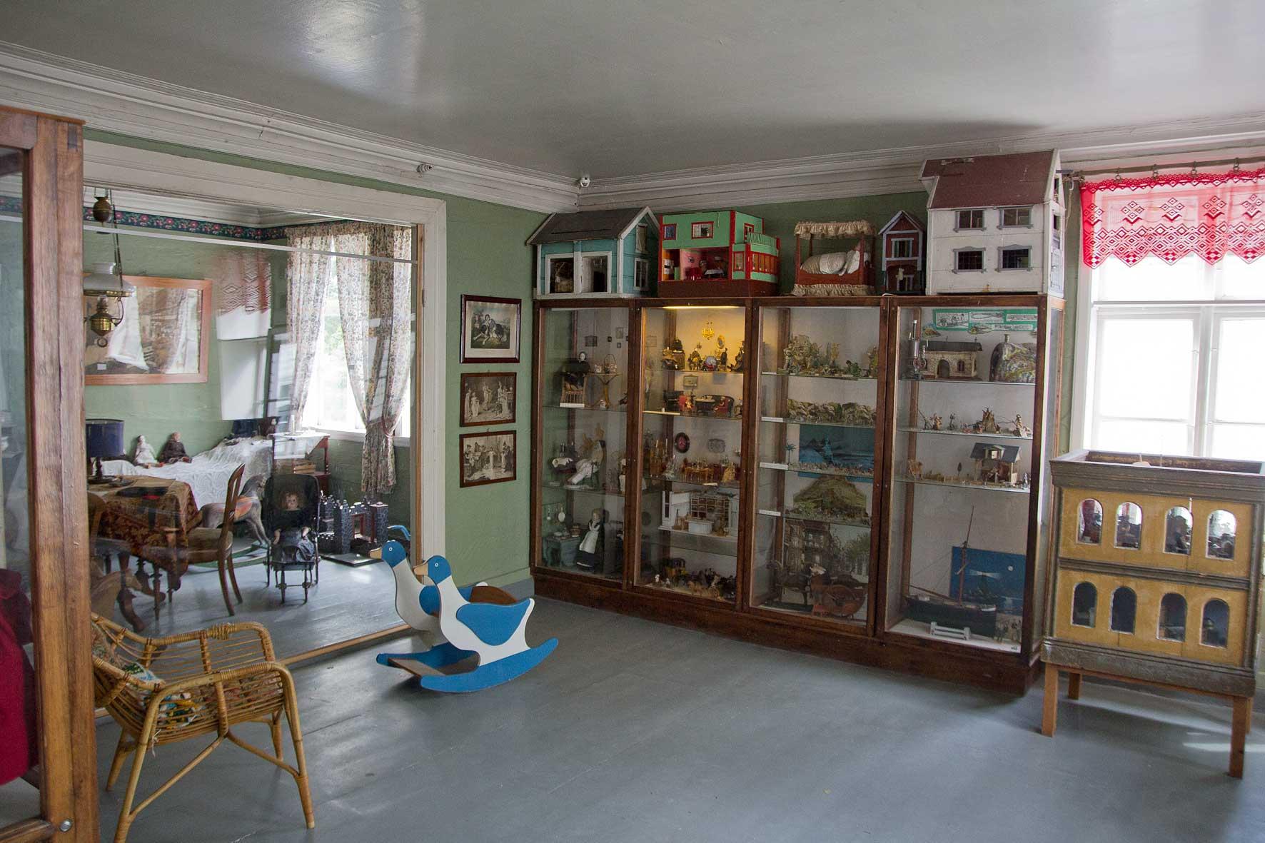 Historisches Spielzeug in Gammle Bergen
