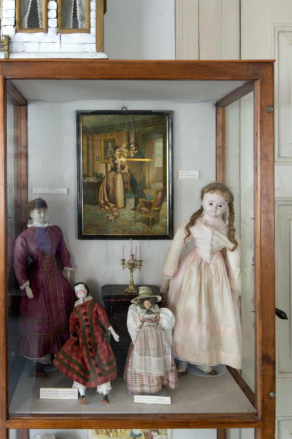 Puppen in Gamle Bergen