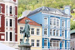Denkmal für Ludvig Holberg in Bergen