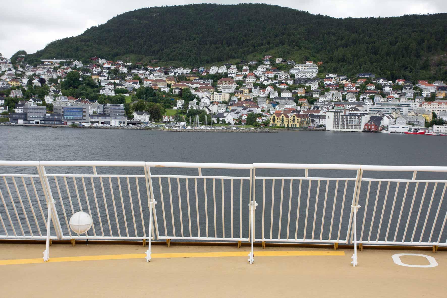 Ablegen Fjord Line
