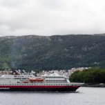 Hurtigruten vor Bergen