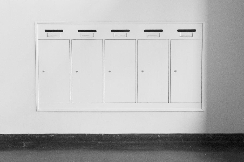 Bauhaus Dessau Briefkästen
